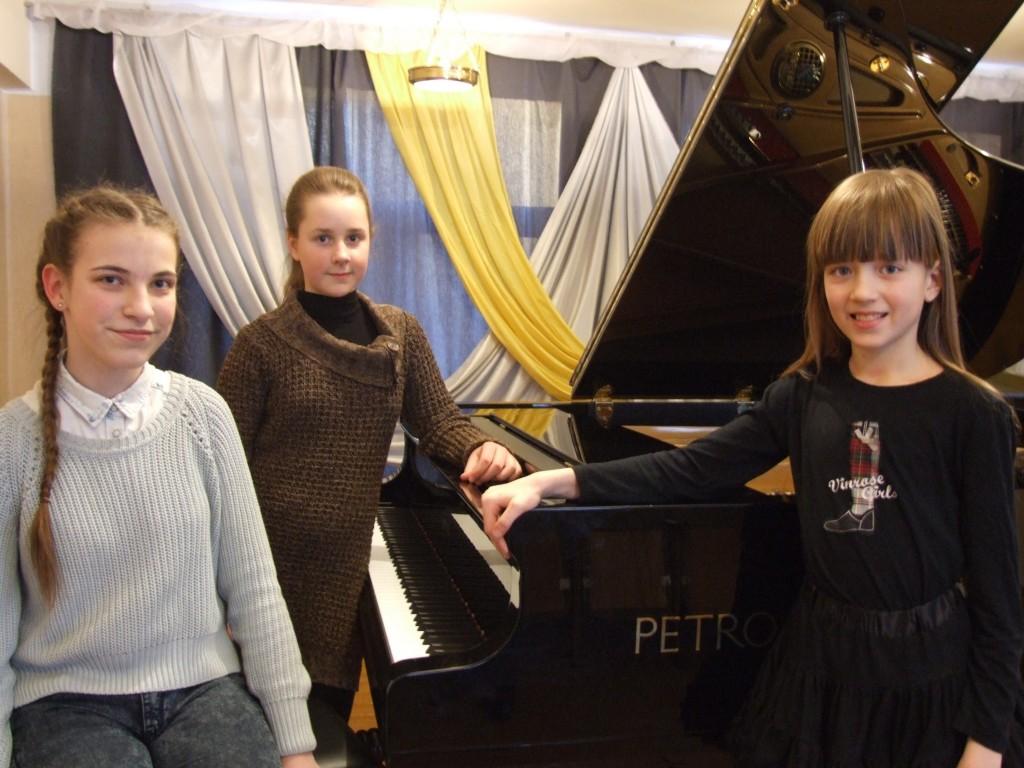 Laureates Elija, Martyna ir Urte