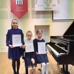 Laureates - Goda Borodulina, Darja Michailova, Ugne Kazlauskaite